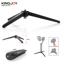 KINGJOY KT 30 Aluminum Portable Mini Tabletop Tripod Leg For DSLR Digital Camera Zhiyun Smooth Q