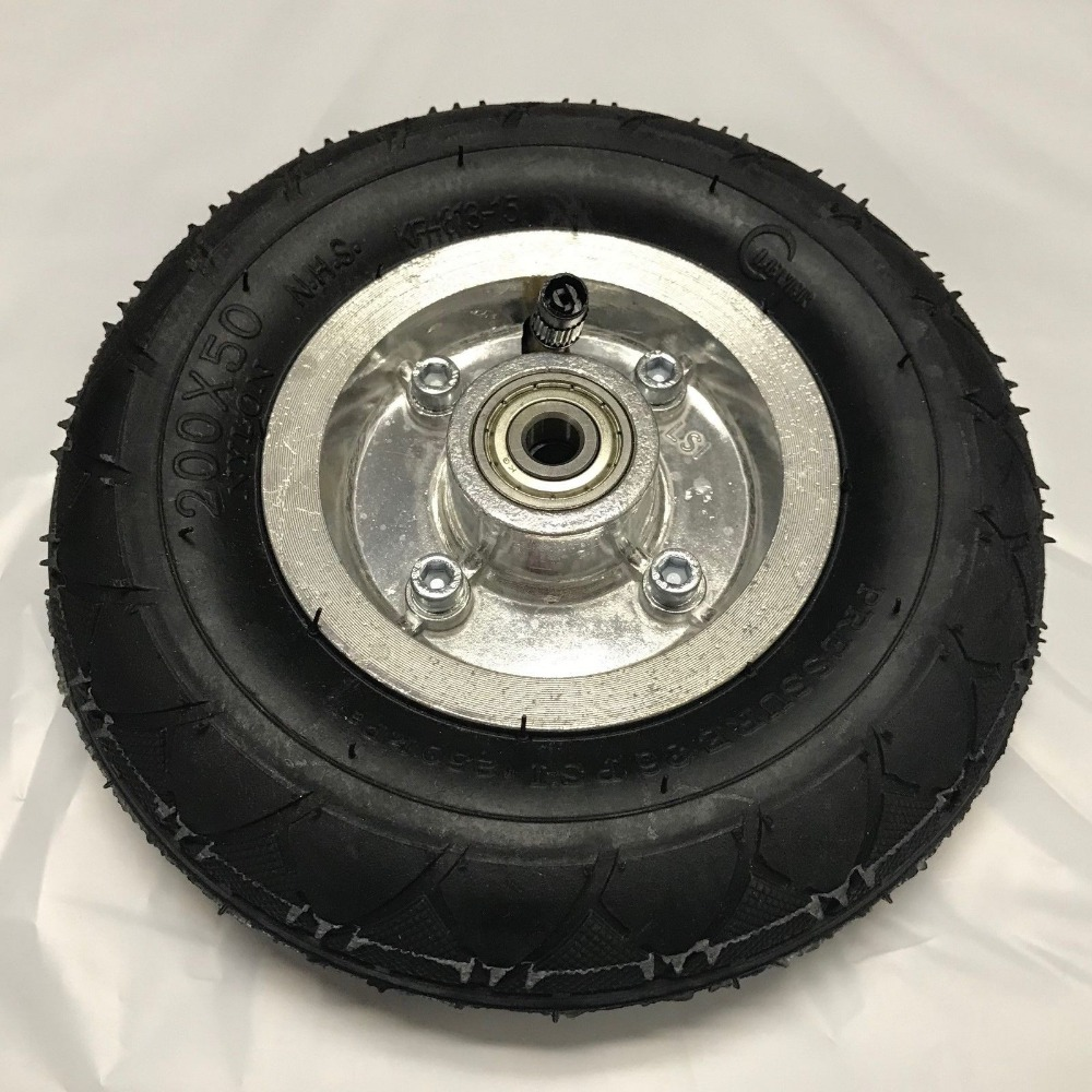 200-50 Tyre and Inner tube complete  petrol //e electric razor E200 new part