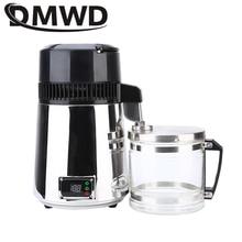DMWD дистиллятор чистой воды 304 нержавеющая сталь дистиллированная вода машина диспенсер фильтр 4L Стоматологическая Дистилляция очиститель 110 В 220 В
