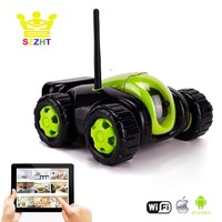Wifi App Controlled Robot Toy Cloud Rover Remote Control Tank with FPV HD Camera RC Vehicle VR Wireless Automatically Recharge