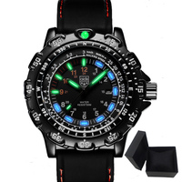 Aidis men sports watches brand casual cool military waterproof outdoor glowing quartz watch men student clock relogio masculino