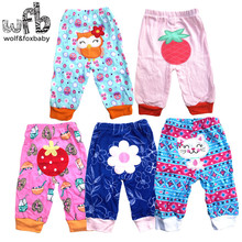 Retail 5pcs/lot 0-2years PP pants trousers Baby Infant cartoonfor boys girls Clothing new