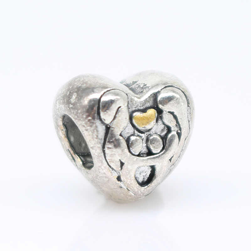 riverdale love heart Beads Fit pandora charms silver 925 original bracelet jewelry valentine's day mary poppins bijoux ZAB203