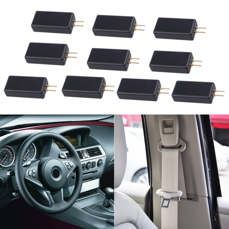 10 PCS Airbag SRS System Car Airbag Inspection Tool Instead Of Airbag Repair Seat Belt Side Air Curtain Internal Resistance