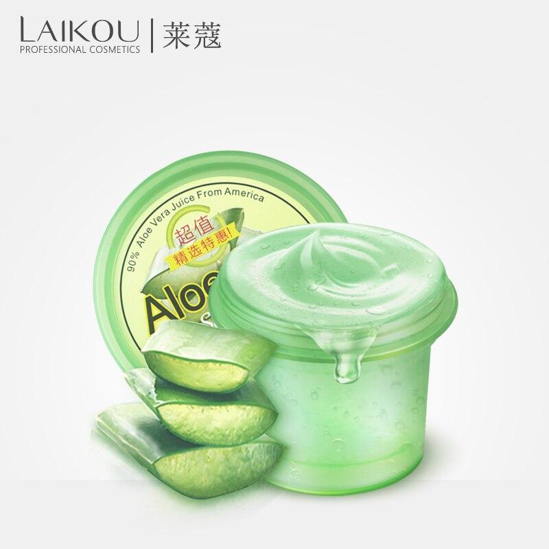 LAIKOU Wrinkle Removal Pure Natural Aloe Vera Gel Repair Cream Moisturizing Anti Acne Anti-sensitive Oil-Control Sunscreen Cream