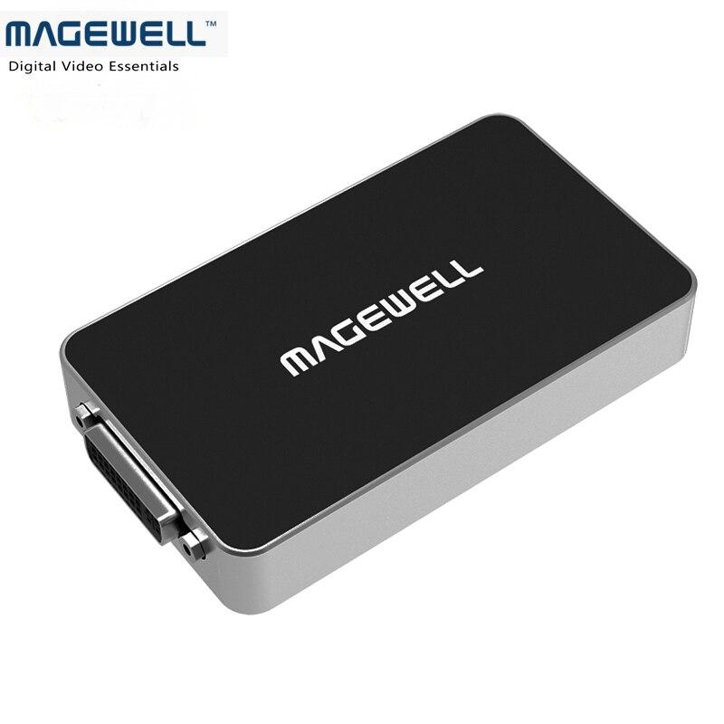 Magewell HD Audio Video Capture Card USB Capture DVI Plus ( capture DVI + HDMI + VGA + Component + CVBS signal)