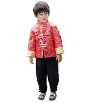 Festival de Primavera de China niños Niños ropa dragón fiesta bebé Niños Chaquetas niños trajes abrigo vestido de China