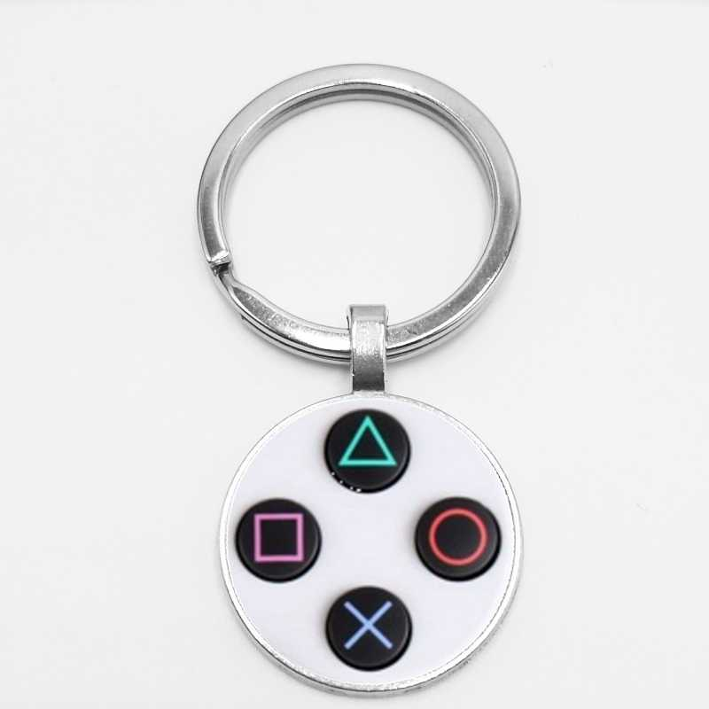 Горячее предложение! Распродажа! Игровой контроллер брелок Playstation идеальный подарок креативные ювелирные изделия игровой контроллер шаблон брелок, подарки для мужчин