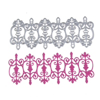 148*58mm Heart Fence Metal Cutting Dies Stencils for DIY Scrapbooking/photo album Decorative Embossing DIY Paper Cards
