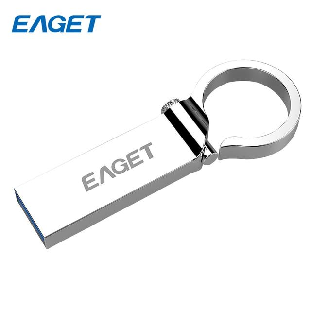 100% original eaget u96 16 gb 32 gb 64 gb usb 3.0 flash drive de diseño excepcional con anillo udp impermeable usb3.0 pendrive usb stick