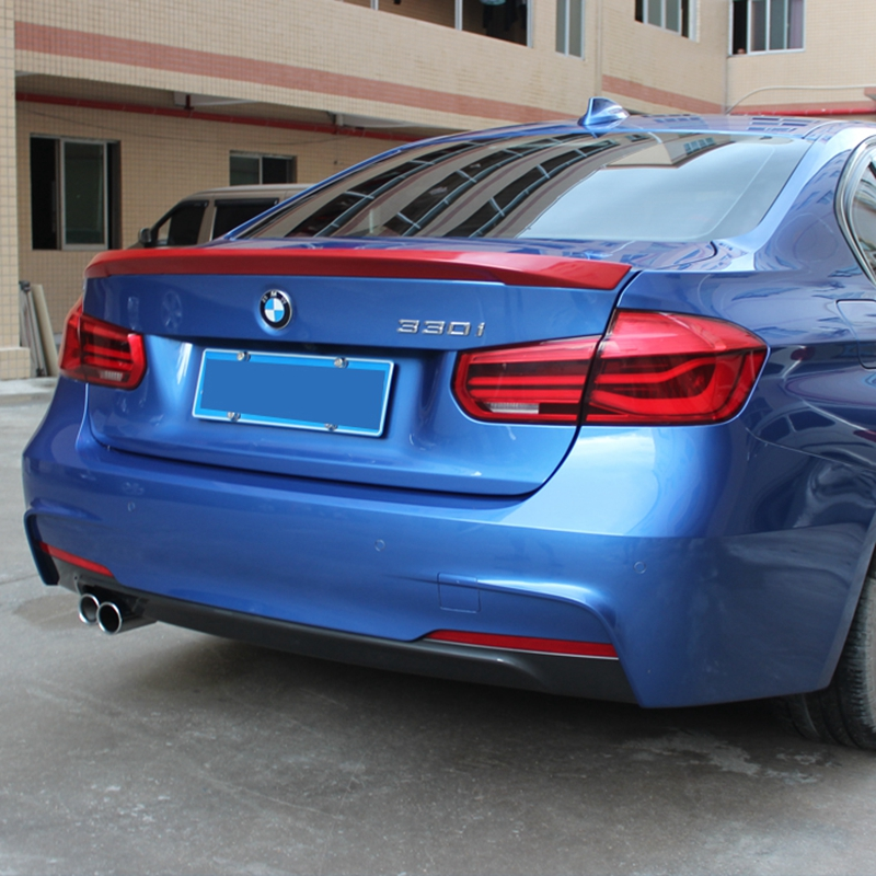 For BMW F30 Spoiler High Quality ABS Material Spoiler For BMW M3 320i 320li 325li 328i Spoiler For F30 Spoiler seintex 84151 для bmw 3 ser f 30
