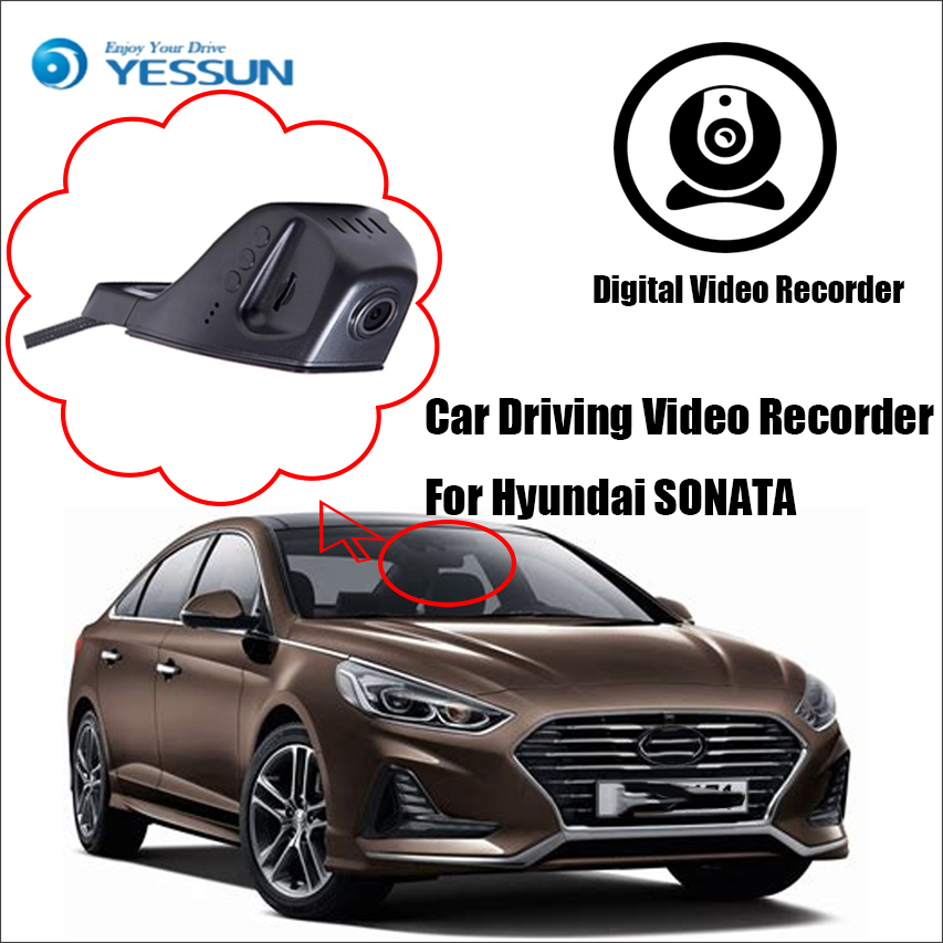 YESSUN voor Hyundai SONATA Car DVR Driving Video Recorder - Front - Auto-elektronica