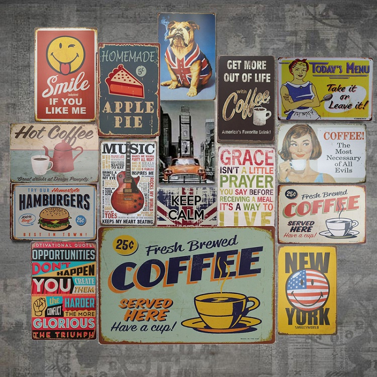 Inspirational FAMILY VINTAGE RETRO METAL TIN SIGN POSTER WALL PLAQUE