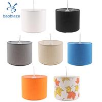 Cylindrical Chandelier Shade Cover Ceiling Light Cover Shade Pendant Lampshade