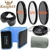 3pcs 49mm Orange Blue Grey Graduated Color ND Filter Kit For Pentax K 01 K5 Sony