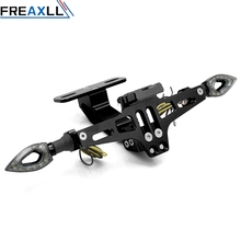 Motorcycle Accessories License Plate Bracket indicator lights For Yamaha X-MAX XMAX xmax 125 250 300 400  TMAX 530 TMAX530 500