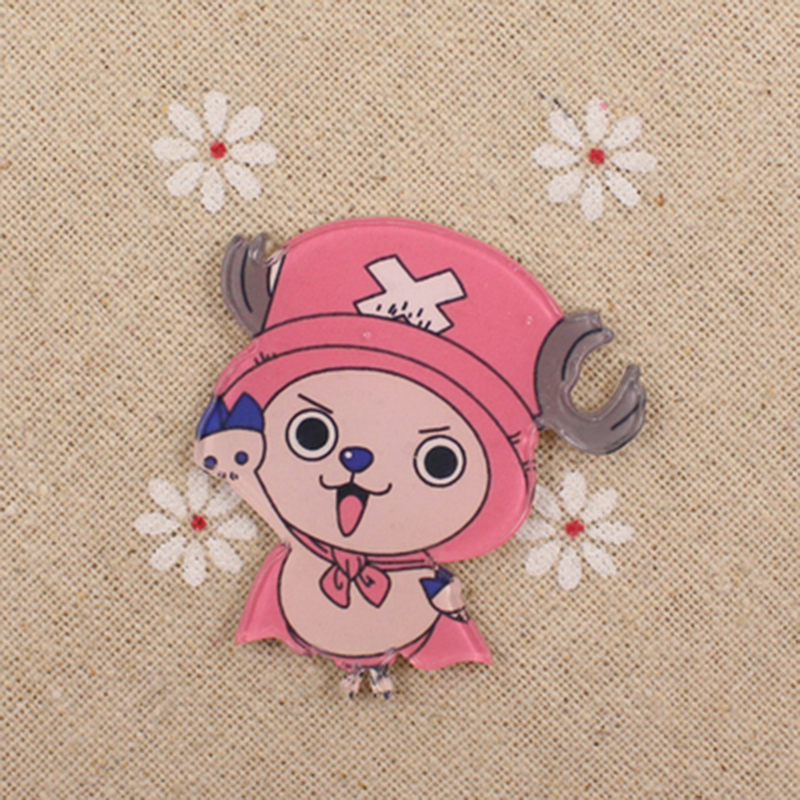 Us 1 2 25 Off Fffpin One Piece Badge Monkey D Luffy Chopper Brooch Coin Icon Cosplay Breastpin Expression Pin Japan Popular Anime Decoration In Pins