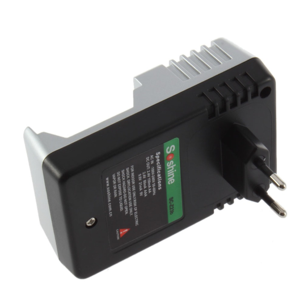 Rechargeable Battery Charger AA AAA 9V Ni-MH Ni-Cd Batteries Charging Chargers
