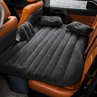 Car Inflatable Bed Inflatable Mattress Travel Camping Air Bed Universal SUV Air With 2 Air Pillows Car Outdoor Play