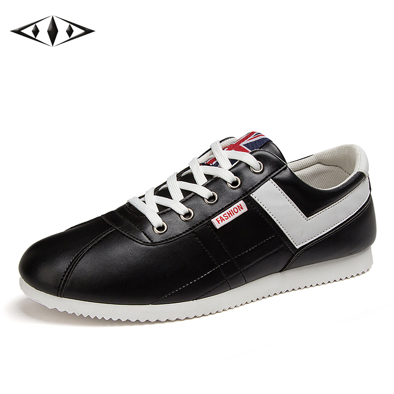 LEMAI Pure Concise Men Sneakers Autumn Spring Outdoor Sport Comfortable Running Shoes Boy Athletic Teenagers Trainers XL805