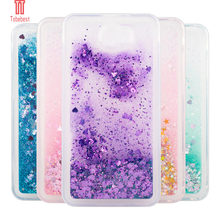Tobebest Case For Huawei Y5 II Silicone Dynamic Flowing liquid Glitter Quicksand Soft TPU Back Cover For Huawei Honor 5A LYO-L21(China)