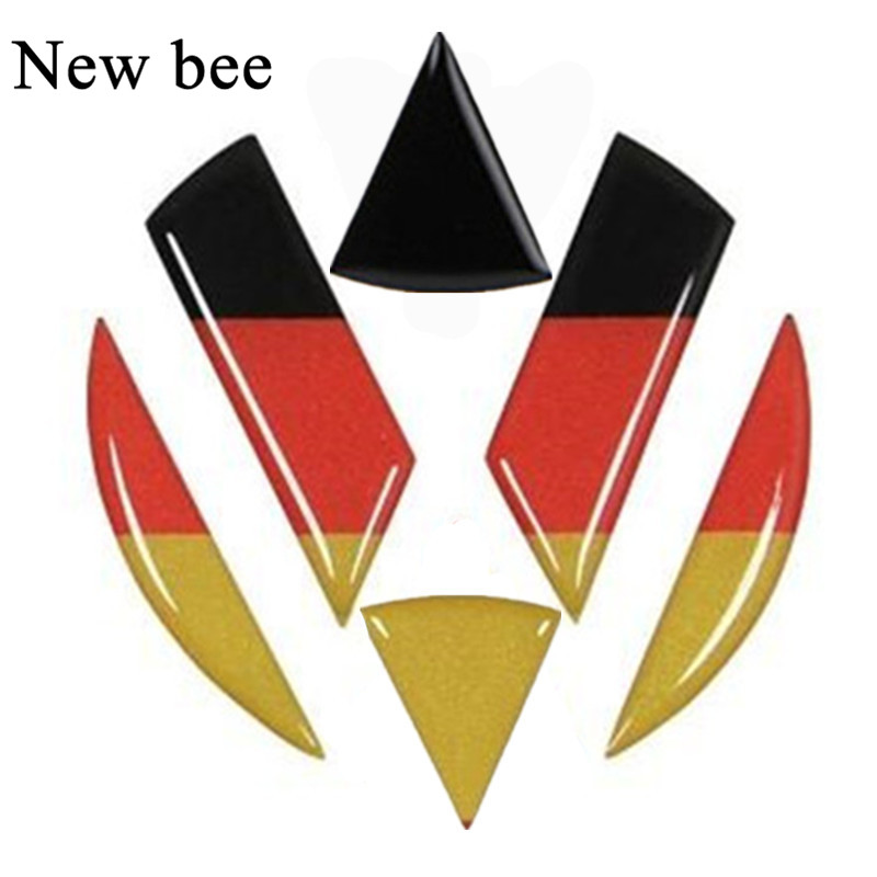 newbee auto styling vw emblem abzeichen aufkleber vorne. Black Bedroom Furniture Sets. Home Design Ideas