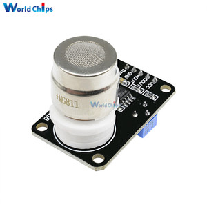 Image 2 - MG811 Carbon Dioxide Gas CO2 Sensor Module Detector With Analog Signal Output 0 2V
