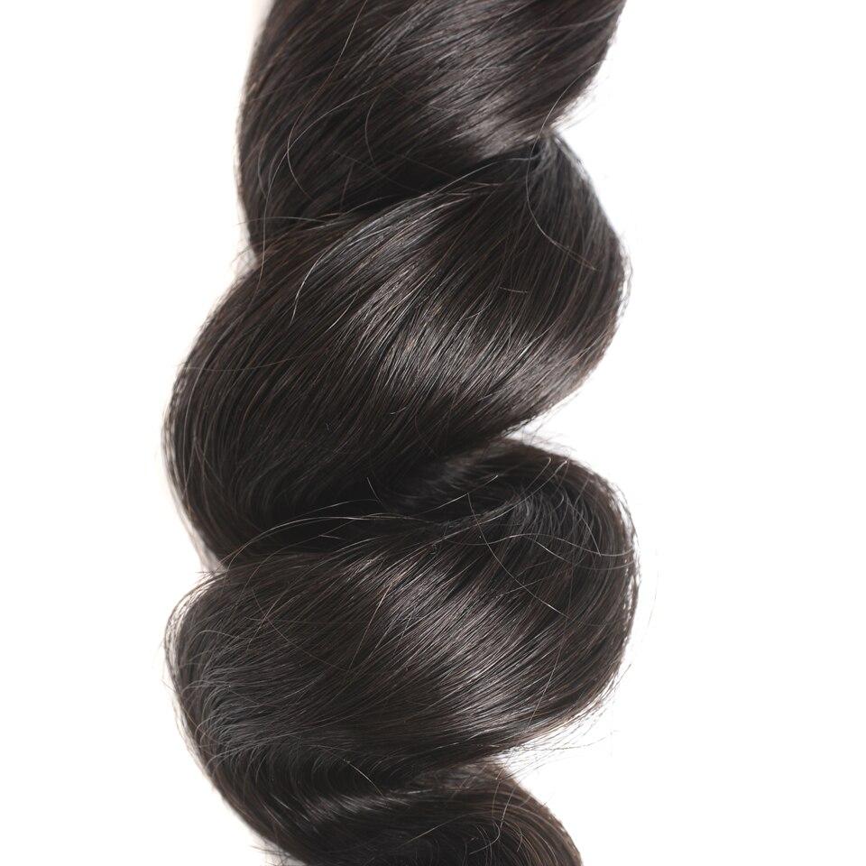 remy do cabelo humano 3 pacotes com