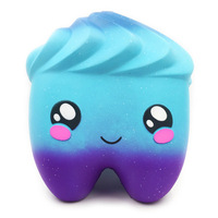 New Squeeze Squishies Extra Big Galaxy Tooth Cream Scented Squishy Anti Stress Novelty Antistress Toys Gift Stress Toys 27cm