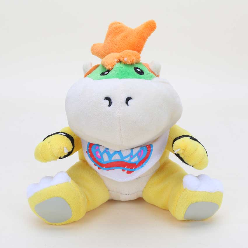 Us 5 09 15 Off 18cm Super Mario Brothers King Koopa Son Bowser Plush Doll Toy In Movies Tv From Toys Hobbies On Aliexpress