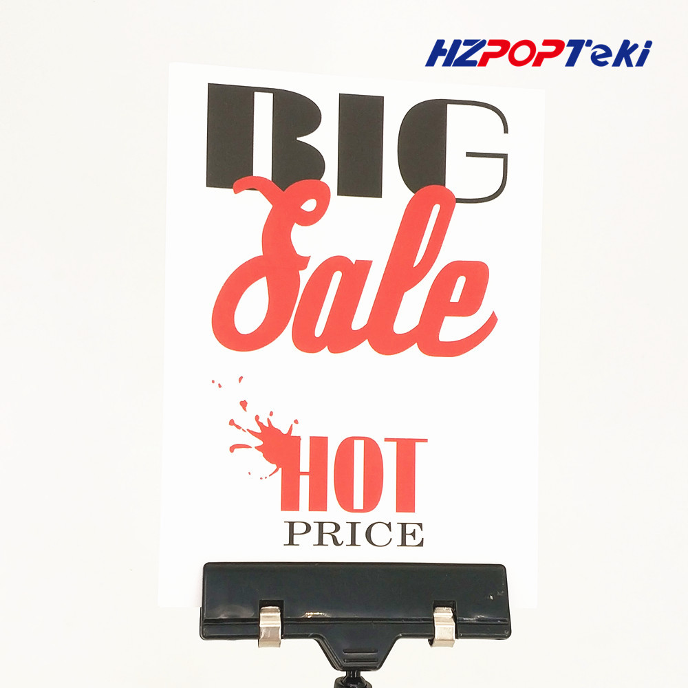 POP Poster Hard Paper 300gsm Label Tag Onsale Sign Signage Card for Advertising Promotion 14x10cm in Retail Store 2pcs signage