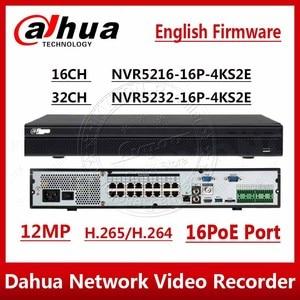 Image 1 - DHL Dahua Original NVR5216 16P 4kS2 NVR5232 16P 4kS2 16/32CH 12MP 1U 16PoE 4K&H265 Lite Network Video Recorder NVR5216 16P 4KS2E