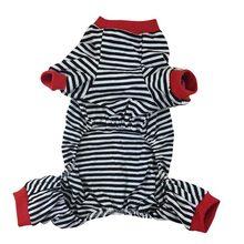 Cartoon-striped cotton chihuahua pajamas / 3 Colors
