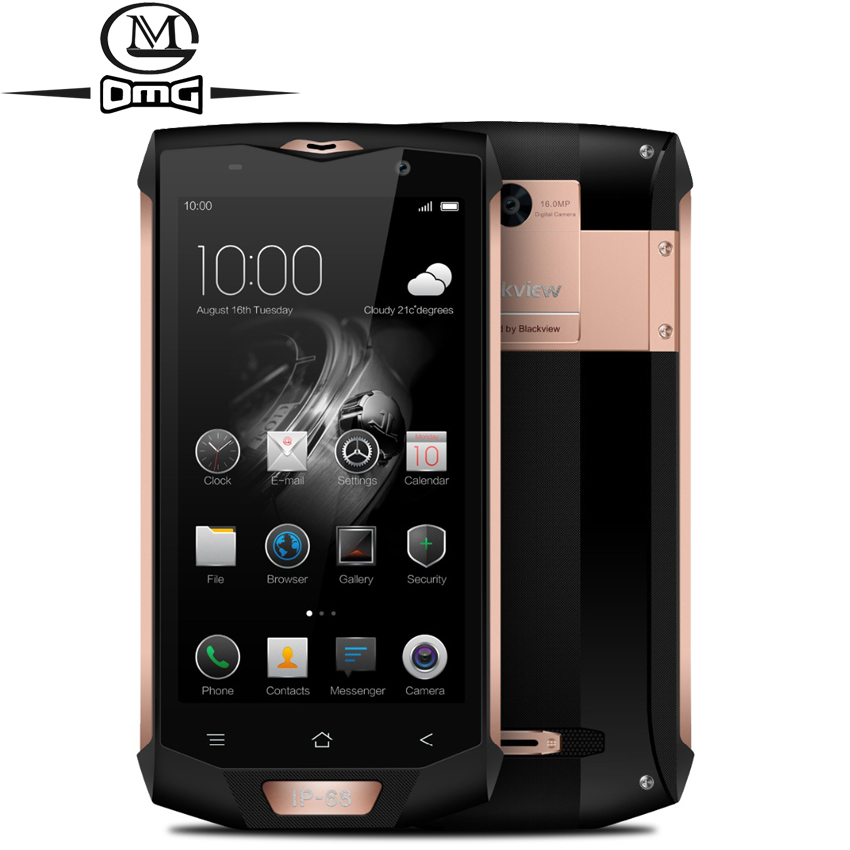 Blackview BV8000 Pro IP68 étanche antichoc 4G Smartphone 5.0