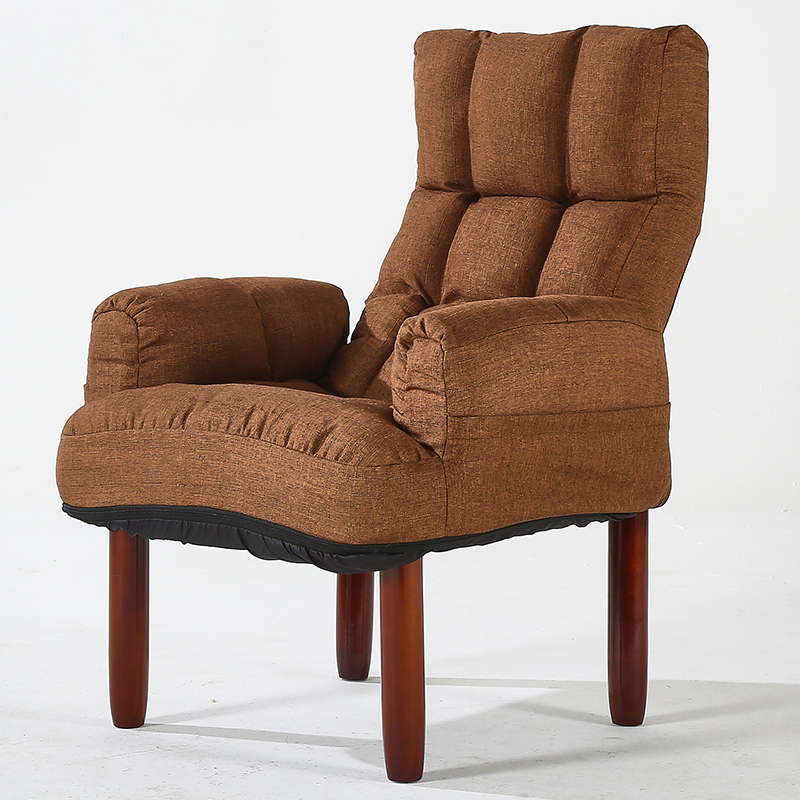 US $169.0 |Aliexpress.com : Buy Modern Upholstery Fabric Sofa Armchair  Living Room Furniture Folding Recliner Reclining Back Arm Accent Chair With  ...