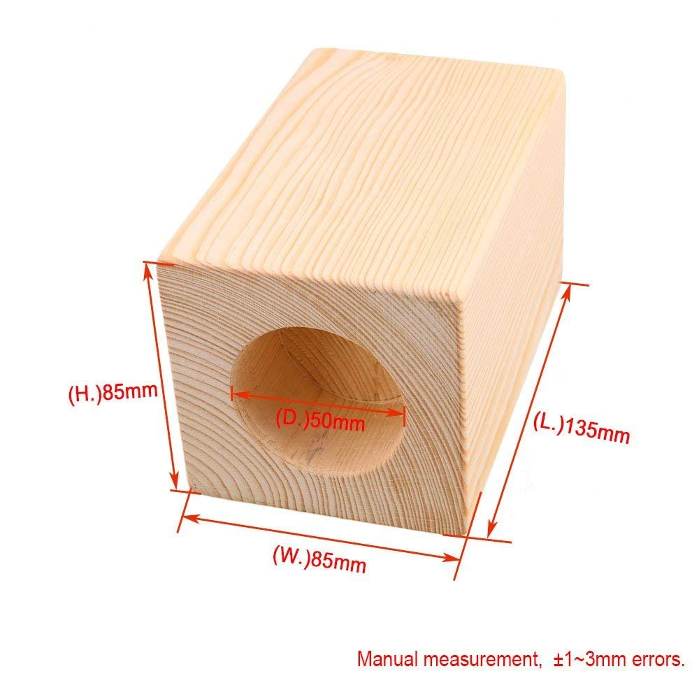1PCS Wood Round Furniture Lifters 4