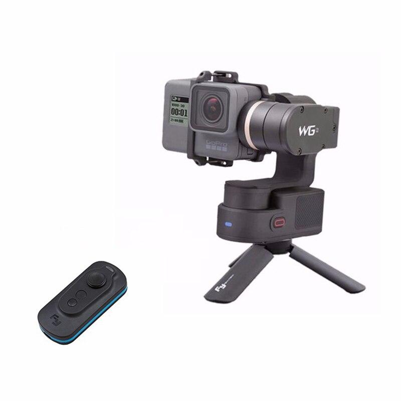 FeiyuTech Feiyu WG2 FY-WG2 3-Axis Waterproof Gimbal Stabilizer for GoPro Hero 5 4 Session + Feiyu Smart Remote + Mini Tripod цена 2017
