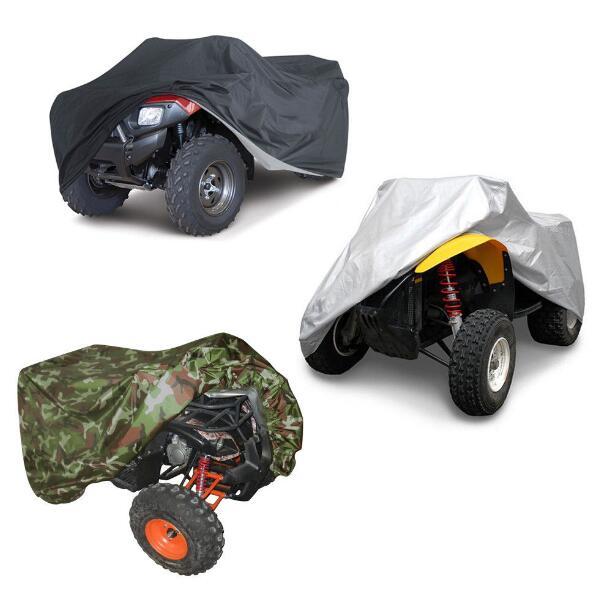 M L XL XXL XXXL 190T Waterproof Quad ATV Cover Universal For Polaris Honda Yamaha Suzuki