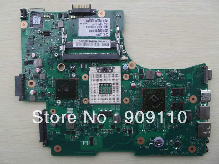 все цены на  L650 L655  non-integrated HM55 DDR3 ATI HD 5470 for Toshiba Satellite laptop motherboard  L650 L655  V000218140  онлайн