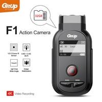 GitUp F1 Wi Fi 4 К 3840x2160 P Спорт действий Камера Ultra HD промежуток времени открытый дорога камера для велосипеда петли регистраторы