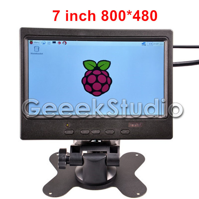 7 дюймов TFT Экран Монитора 800*480 ЖК-Дисплей для Raspberry Pi 3/2 Модель B/B +/+