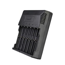 Buy 20pcs/lot Trustfire TR-012 Universal Digicharger Intelligent Battery Charger With 6 Slots for 18650 18350 16340 14500 AA AAA directly from merchant!