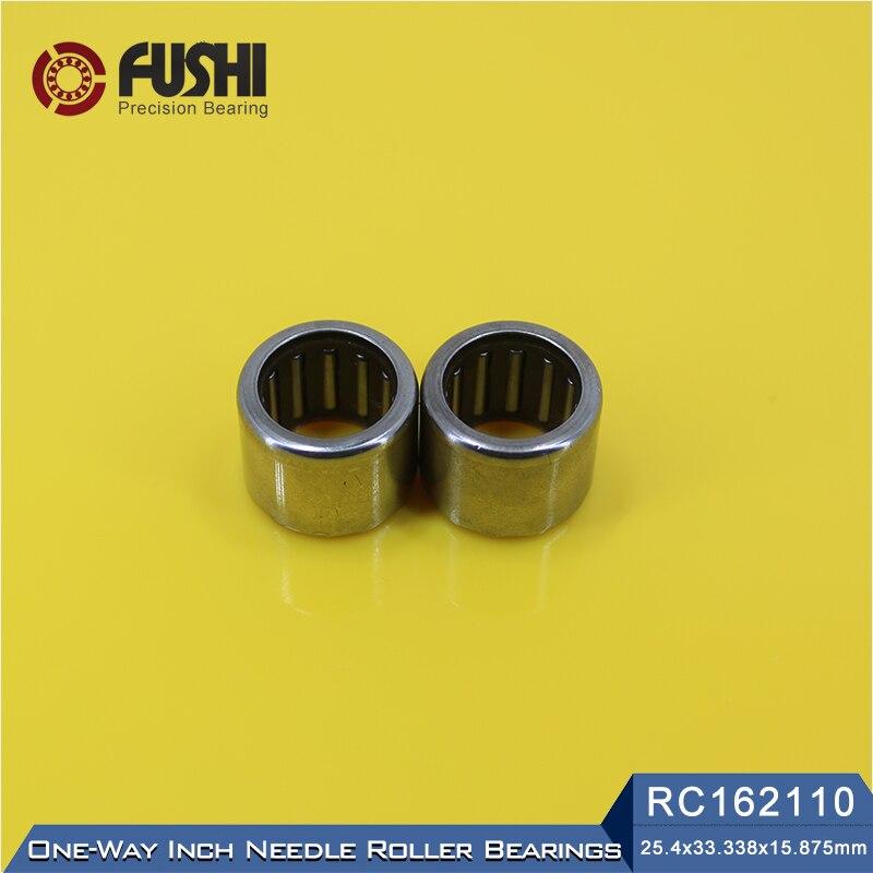 все цены на RC162110 Inch Size One Way Drawn Cup Needle Bearing 25.4*33.338*15.875 mm ( 2 Pcs ) Cam Clutches RC 162110 Back Stops Bearings онлайн