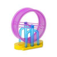 Premium New 1Set LED Light Music Hamster Wheel Roller Electric Toys for Children Kids Education Learning Toys