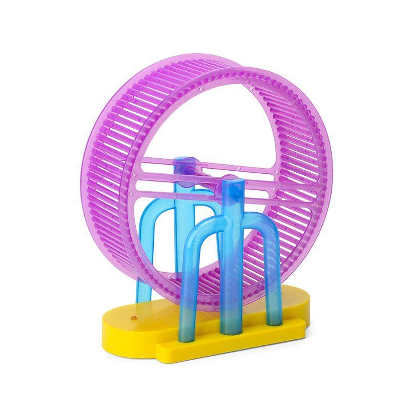 Premium New 1Set LED Light Music Hamster Wheel Roller Electric Toys for Children Kids Education Learning