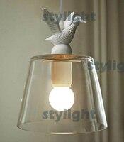 Pato pingente lâmpada pingente de iluminação lâmpadas estilo Country americano country light country style lighting lamp loft -