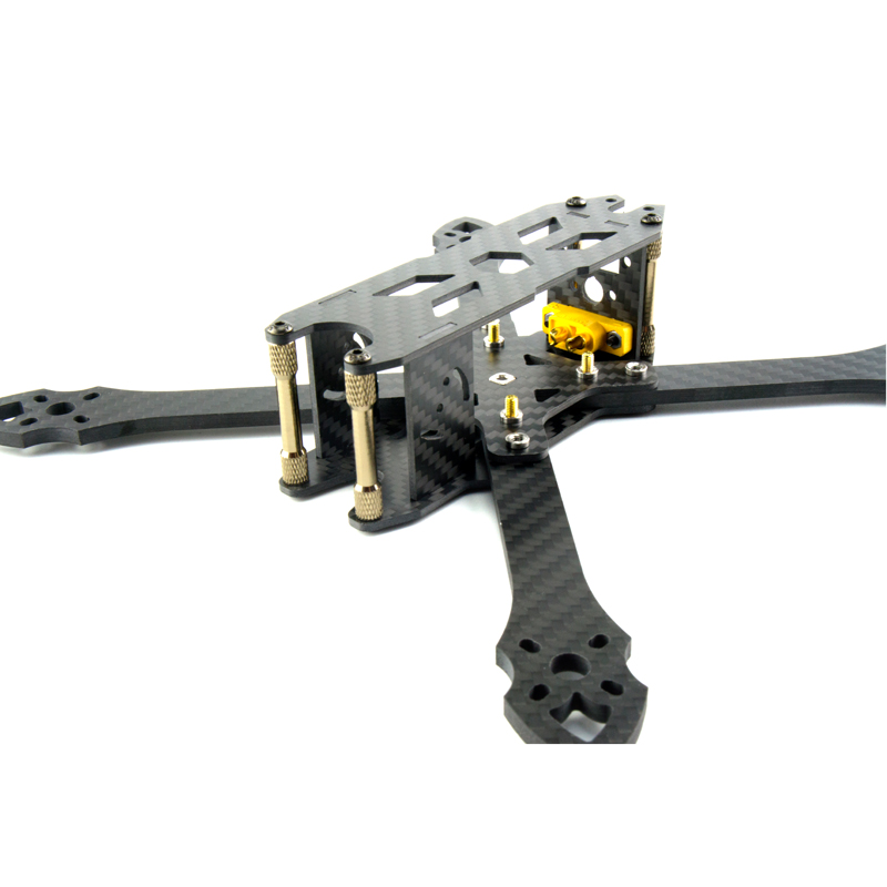 Hot STP ZX-220 220mm Wheelbase 4mm Arm Carbon Fiber Frame Kit for RC Drone FPV Racing 103g DIY Multirotor Motor ESC Models Parts drone with camera rc plane qav 250 carbon frame f3 flight controller emax rs2205 2300kv motor fiber mini quadcopter