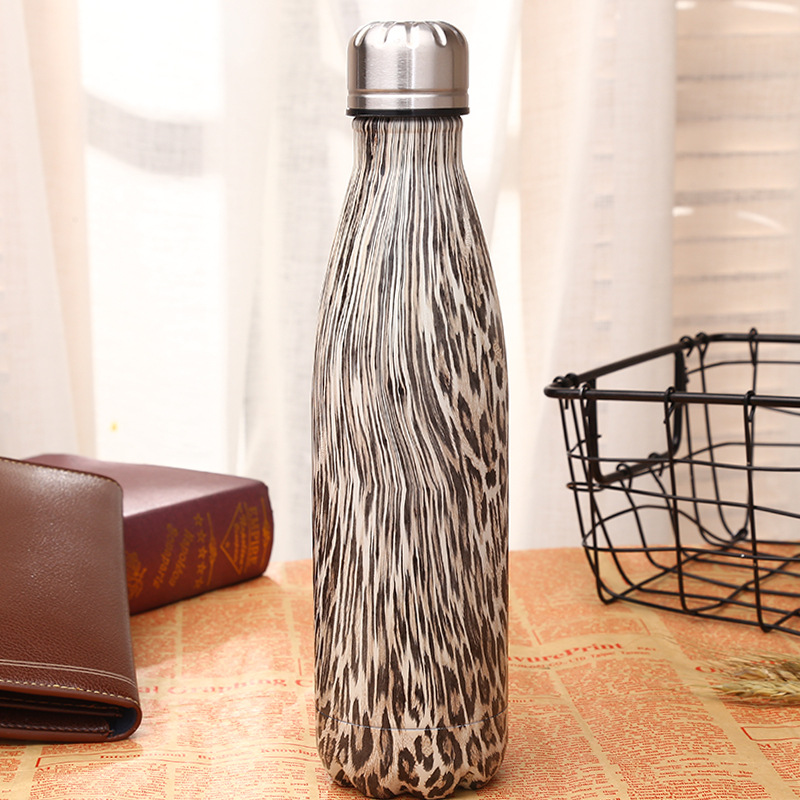 1pcs 500 ml vacuum flask Expansion bottle of water bottle coffer sports kettle vacuum fl ...