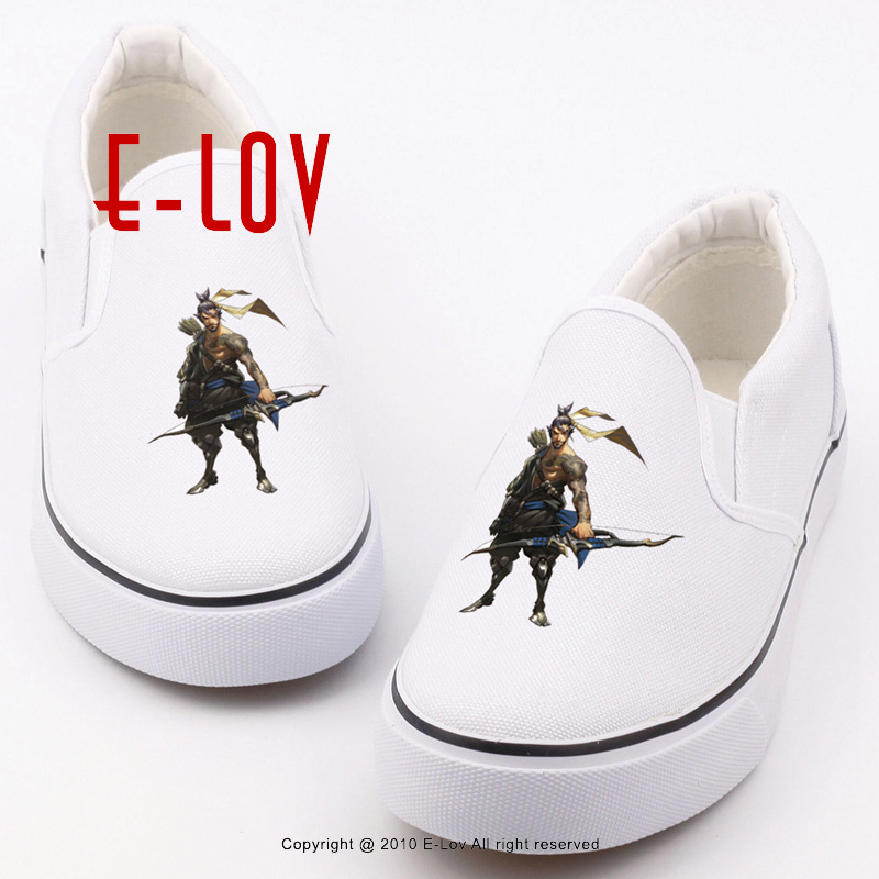 E-LOV Brand Casual Women Shoes Slip On Flat Canvas Loafers Graffiti Printed Hot Games Unisex Footwear Design For Couples game of thrones casual shoes women house stark winter is coming printed summer style superstar graffiti canvas shoes big size