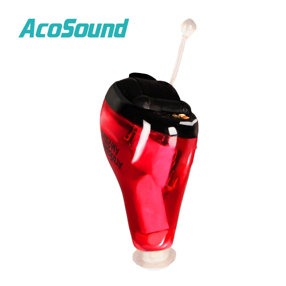 AcoSound Acomate 610IF Invisible Digital Hearing Aids CIC 6 Channels Ear Aid Sound Amplifier Ear Care Hearing Device make international keith brymer jones punk range sugar bowl sugar stay or sugar go